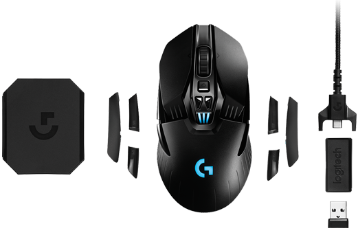a05b660d8b7 left handed mice logitech g903 wireless gaming mouse top