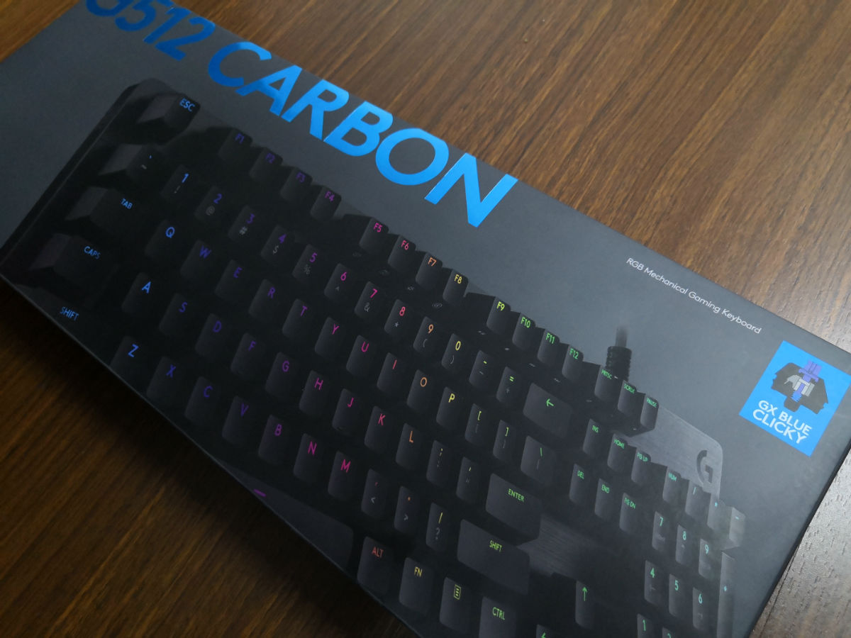 1d10446296b Logitech G512 Carbon GX Blue Switch Mechanical Gaming Keyboard Review