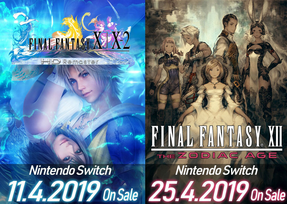 Final Fantasy Games on the Switch ...